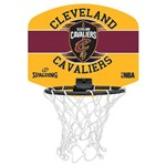 Mini Tabela de Basquete Nba Cleveland Cavaliers Spalding Team Micro Backboard Set