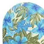 Mini Tábua de Passar Arte Nilos - 35 X 58cm Floral Azul