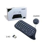 Mini Teclado Wireless Bluetooth Chat Pad para Controle de Xbox 360 One S Slim Dobe Tyx-585