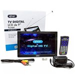 Mini Tv Digital Full Seg Lcd de 9 Polegadas - Kp-md005 / Dt