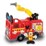 Mini Veículo e Figura - Disney - Mickey Mouse - Caminhão de Bombeiros - Fisher-price