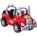 Mini Veículo Infantil a Pedal Caminhão Vermelho - Calesita