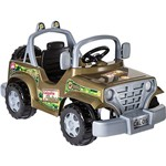 Mini Veículo Infantil Safari Verde - Calesita