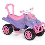 Mini Veículo Pink Cross Calesita Pedal