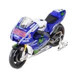 Miniatura 1:10 Yamaha Movistar Moto Gp Lorenzo 2014 Maisto