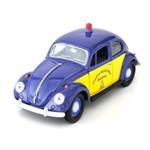 Miniatura California Collectibles 1:24 Vw Fusca 1967 Polícia Rodoviária