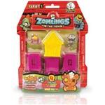 Miniatura Colecionavel Zomlings Bairro Zombie Serie 1 Fun