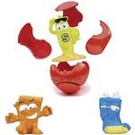 Miniatura Colecionavel Zuru Smashers 3 Figuras Surpresas Candide