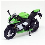 Miniatura Moto Kawasaki Ninja ZX-10R 2009 - 1:18 - Welly