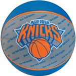 Minibola de Basquete 13 NBA Team Knicks Sz 3 Unica Uni