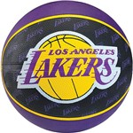 Minibola de Basquete 13 NBA Team Lakers Sz 3 Unica Uni
