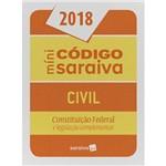 Mínicódigo Saraiva Civil - Constituição Federal e Legislação Complementar - 24ª Ed.