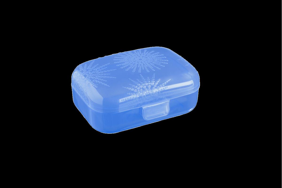 Mininecessária 10,8 X 8,2 X 4,4 Cm Azul Coza