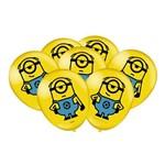 "Minions 3 Balão 9"" C/25 - Festcolor"