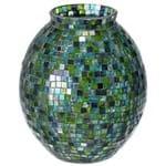 Minisaic Vaso 19 Cm Verde/multicor