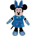 Minnie Azul Beanie Boos Médio - Dtc 3969