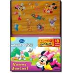 Minnie Mouse: Ache e Encaixe - com 8 Pessas de Encaixar