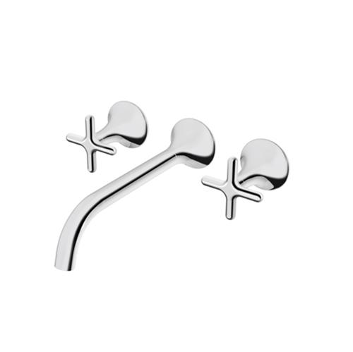 Misturador para Banheiro Parede Liss Cromado - Docol - Docol