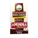 Mix para Bolo Sem Glúten Sabor Cacau Aminna 400g