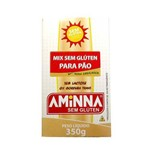 Mix para Pão Sem Glúten Aminna 350g