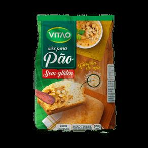 Mix Sem Glúten para Pão Farinha de Soja Vitao 300g