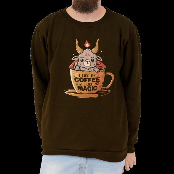 MO - Moletom Basico Black Coffee - Unissex - P