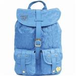 Mochila C/ 2 Bolsos Capricho Love Blue 10970 - Dmw