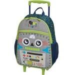 Mochila com Rodinha Pack me Robot G - Pacific