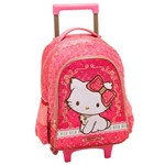 Mochila com Rodinhas G Charmmy Kitty Blooming - Pacific