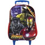 Mochila de Carrinho The Avengers E.c Grande Xeryus