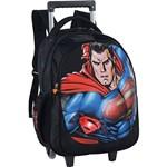 Mochila de Costas com Carrinho Superman Vs Batman - Luxcel