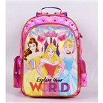 Mochila de Costas Pink Princesas Disney Dermiwil