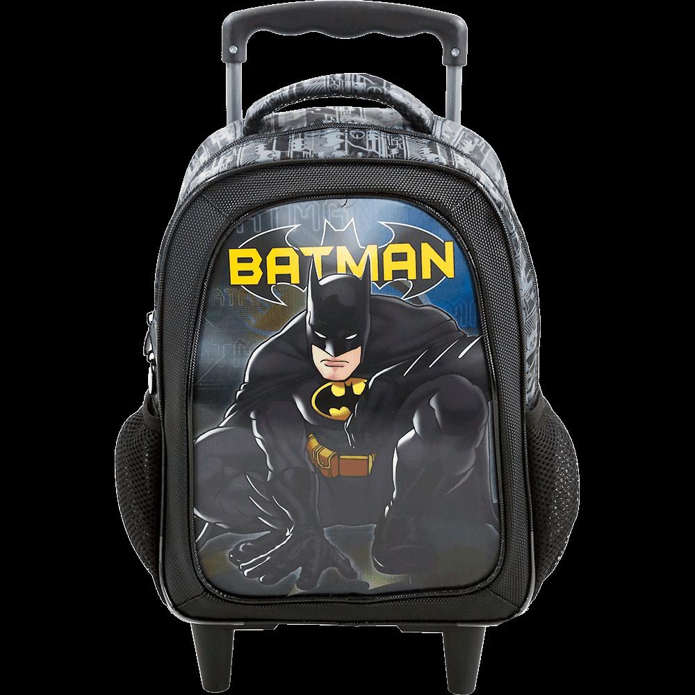 Mochila de Rodinhas Batman Dark Light 7580