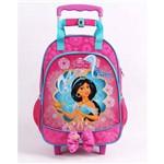 Mochila de Rodinhas Disney Princesas Jasmine - 51986