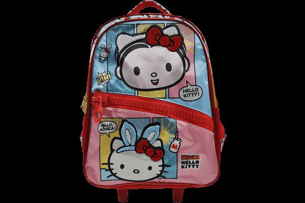 Mochila de Rodinhas Hello Kitty Mônica - Hello Mônica 7920
