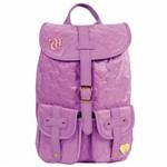 Mochila Escolar Capricho Love Purple Dermiwil 10976