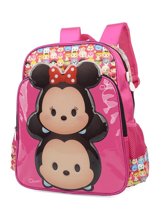 Mochila Escolar Disney Tsum Tsum Mickey & Minnie IS33201TS-PK IS33201TSPK