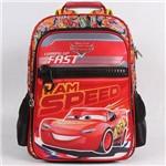 Mochila Escolar G Dermiwil Carros I Am Speed Vermelho - 51830