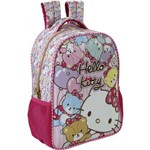 Mochila Escolar Hello Kitty Tiny Bears Media Xeryus