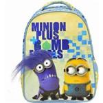 Mochila Escolar Infantil 16 Minions Plus - 5732