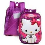 Mochila Escolar Infantil G de Costas Gata Charmmy Kitty 4d Sanrio - Pacific