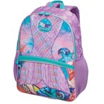 Mochila Escolar Pack me Mermaid Grand 3 Bolsos Pacific