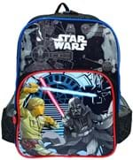 Mochila Escolar Star Wars Grande Infantil IS33041ST-CZ IS33041STCZ