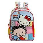 Mochila Escolar Tamanho 14 Xeryus Mônica e Hello Kitty BFF - 7913