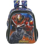 Mochila Escolar The Avengers Armored Grande Xeryus