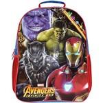 Mochila Escolar The Avengers E.c Grande