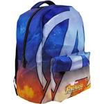 Mochila Escolar The Avengers Teen 02 Bolsos Grande Xeryus