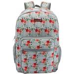 Mochila Escolar Westpack Sweet Flowers Grande 3 Bolsos Yangzi