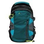 Mochila Esportiva com Compartimento para Bolsa de Hidratação Yins Azul