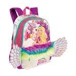 Mochila Grande Barbie Dreamtopia Unicórnio Asas Original